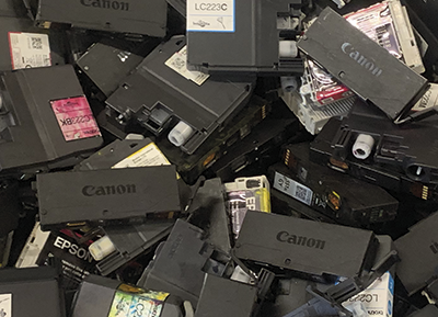 Ohana Trade - Collection and Distribution of used printer cartridges.